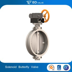 Wafer Powder Pneumatic Butterfly Valve
