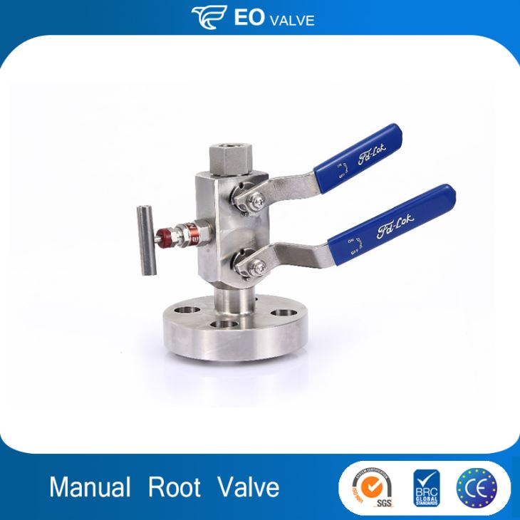 Stainless Steel Block And Bleed Valves Gauge Root Valve